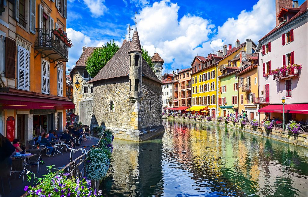 Destination Annecy pour un EVJF
